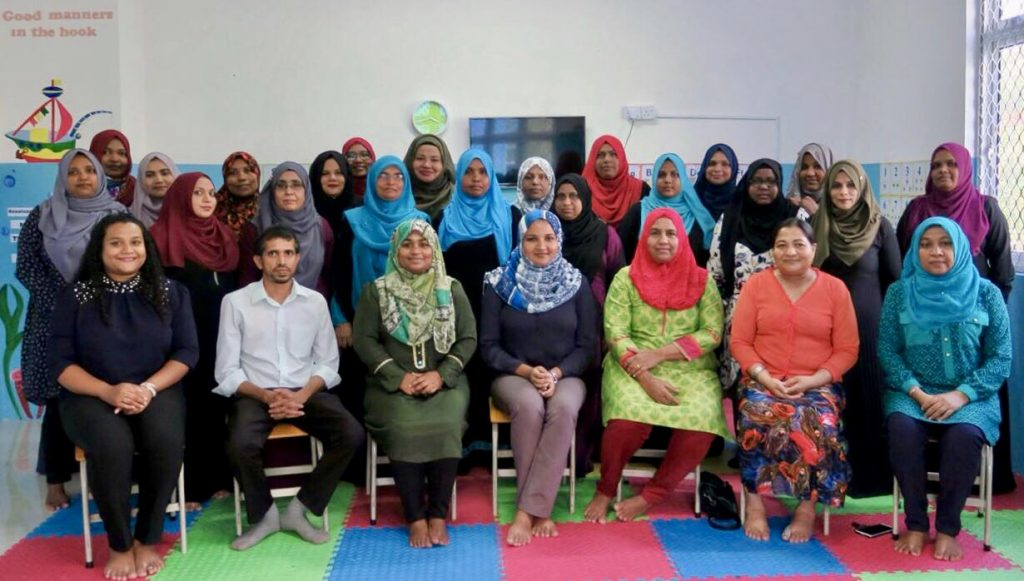 """Positive Parenting Training"" programme for staff at Fiyavathi"