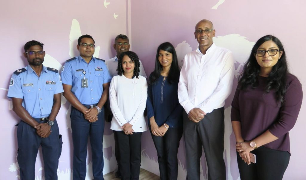Child-Friendly Interview Rooms established in GA. Villingili and GDh. Thinadhoo