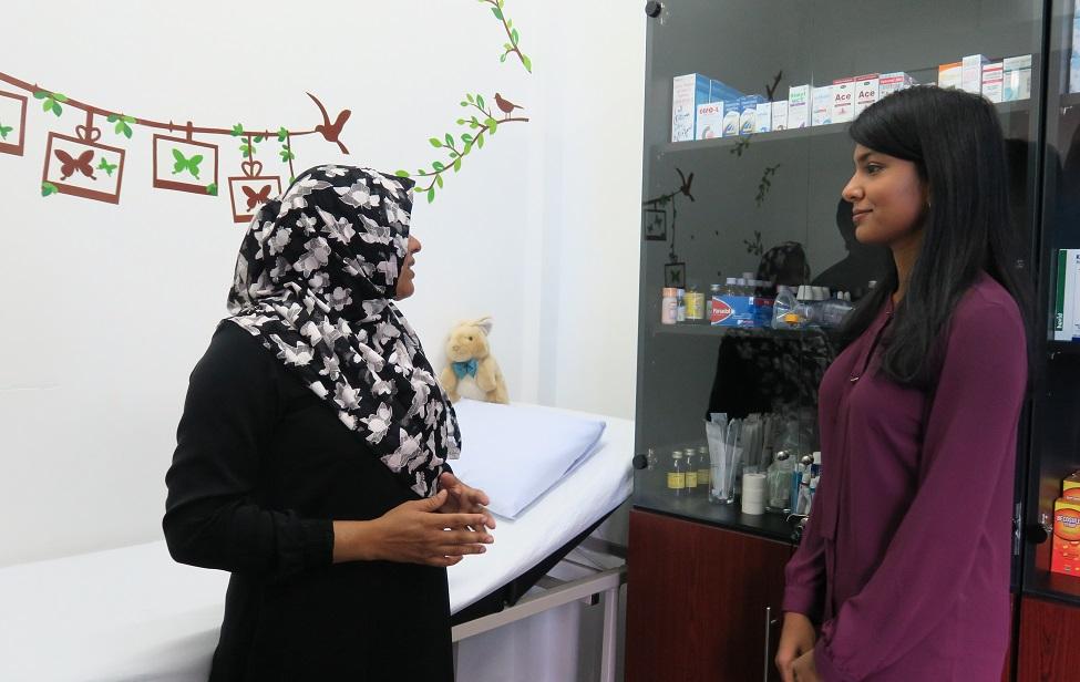 Medical Unit established at Fiyavathi shelter