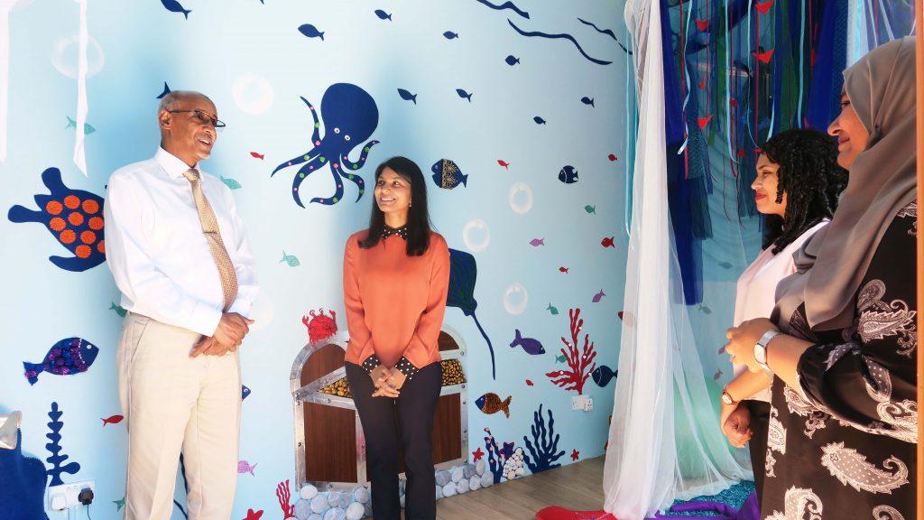 Sensory Room established at Fiyavathi shelter