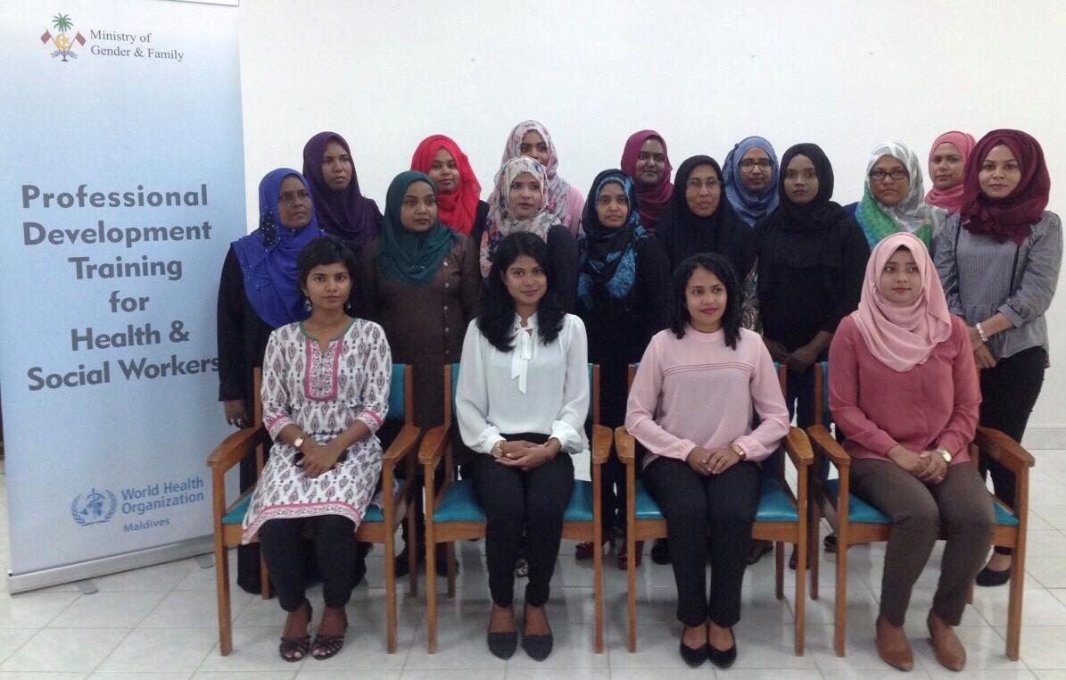 Professional Development Training Programme in Addu City
