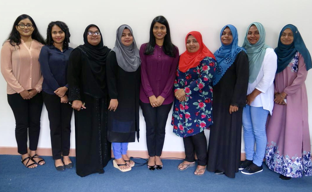 Minister's official visit to Gaafu Alif Atoll Villingili