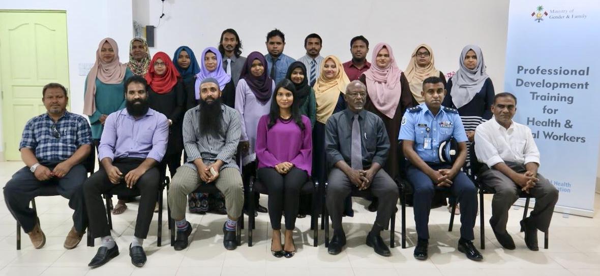 Professional Development Training Programme in Alifu Alifu and Alifu Dhaalu atolls