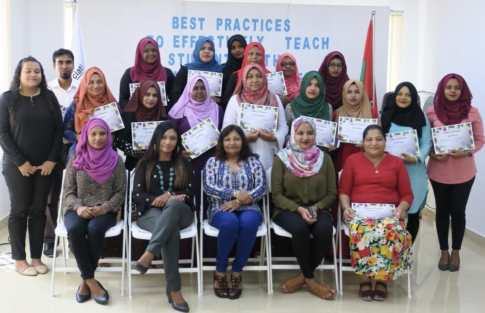 Training conducted for staff at Fiyavathi